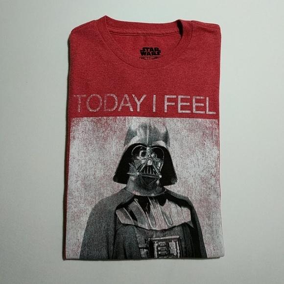 32d52275 Star Wars Shirts   Darth Vader Awesome Mens Tshirt Large   Poshmark